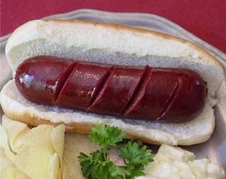 Deer Hotdog Venison Frankfurter for sale