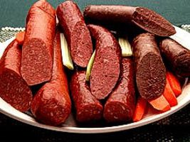 Smoked Deer Sausage Venison for sale