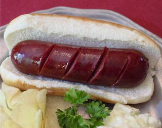 Deer Hotdog Venison Frankfurter for sale